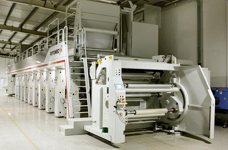 意大利罗特麦克十色印刷机